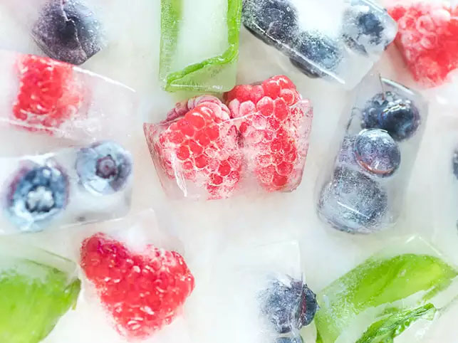 Fruity Ice Cubes